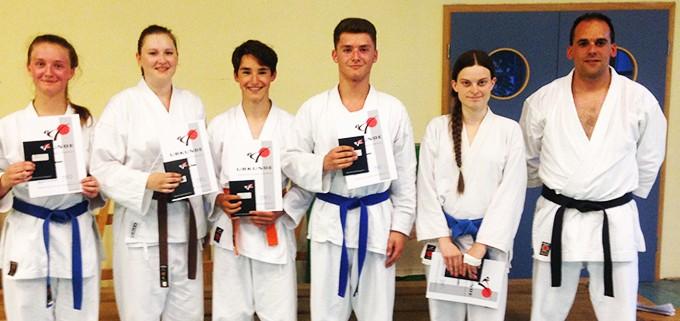 Prüfung Karate